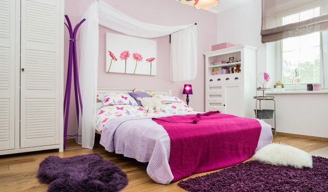 Кровати с балдахином - примеры  (29)