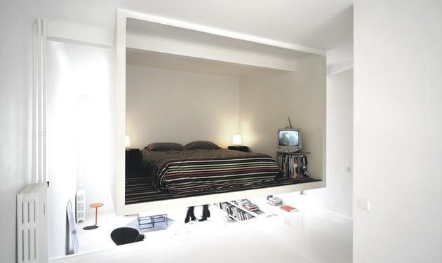 Оригинальная планировка квартиры студии (9)