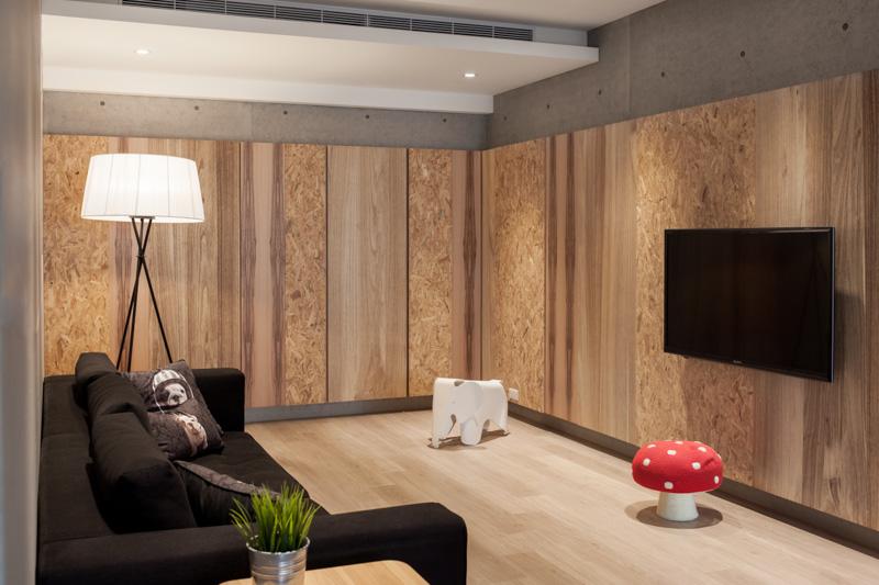 планировка - гостиная комната
