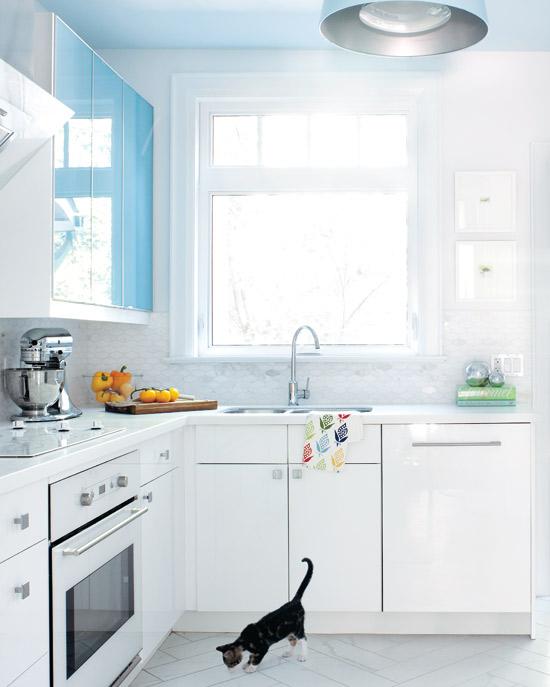 выбор цвета для кухни