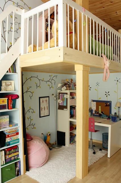 Как оборудовать детскую комнату своими руками 93