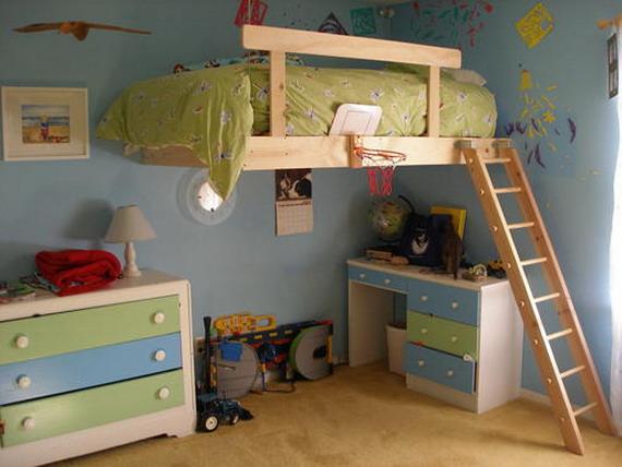 кровать чердак с игровой зоной внизу