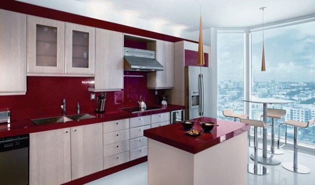 Дизайн небольшой квартиры - кухня