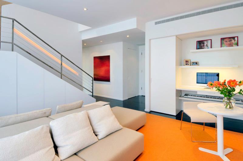 нижний этаж двухуровневой квартиры
