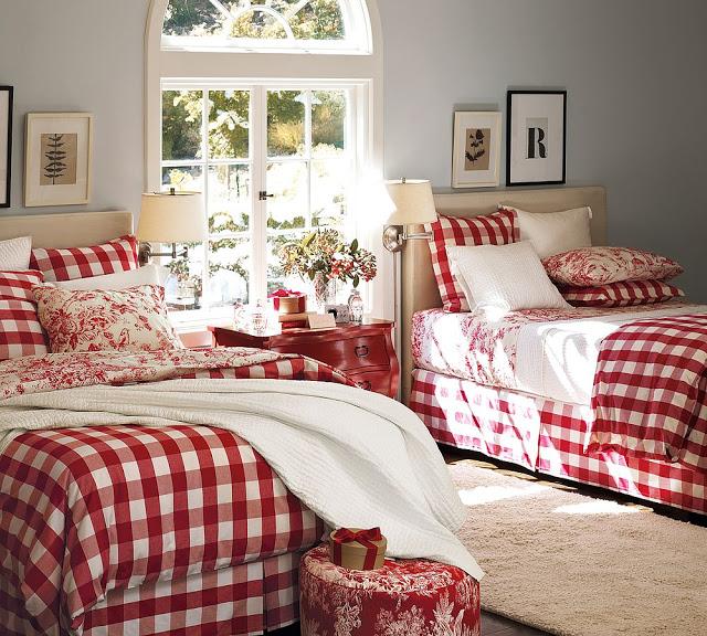 Новогоднее оформление детской спальни