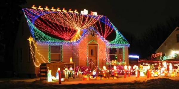 фото-украшаем дом к новому году (80)