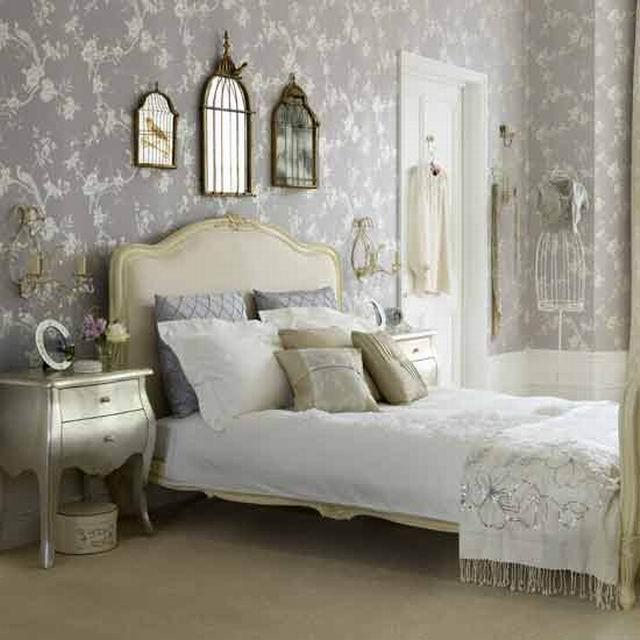французский стиль в интерьере спальни фото 5