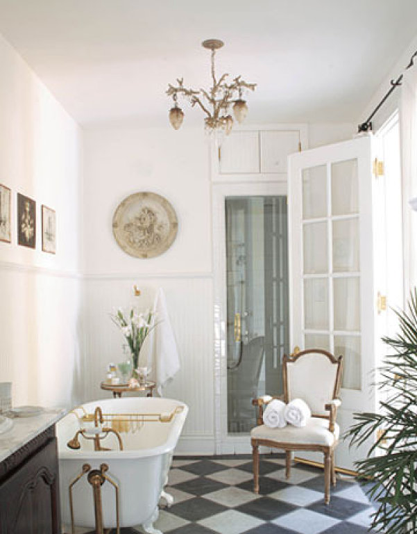for French shabby chic bathroom ideas