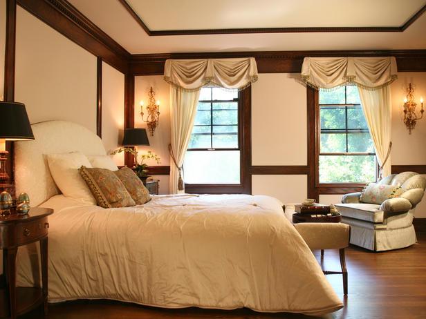 Испанский интерьер спальни - фото