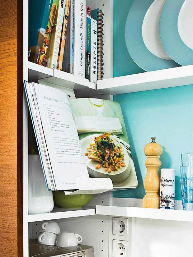 полочки на маленькой кухне