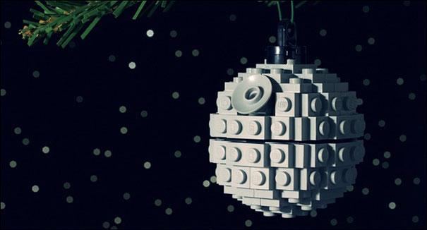 новогодние украшения своими руками из конструктора лего