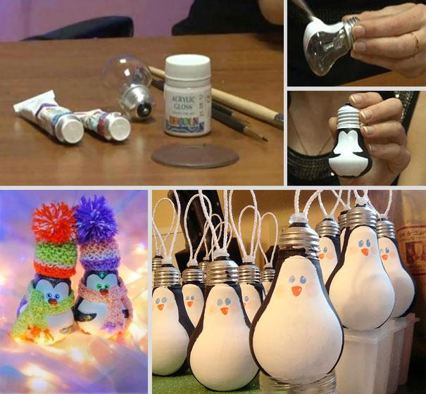 Новогодние игрушки своими руками - несколько великолепных идей Интерьерные штучки