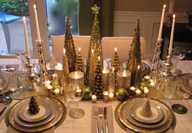"""Украшение стола к новому году - """"Праздничный стол"""""""