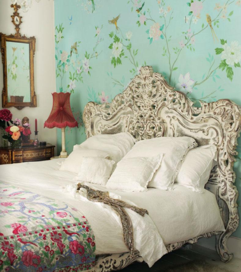 шебби шик спальня фото 7