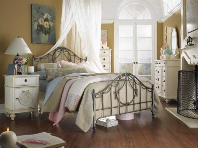 шебби шик спальня фото 1
