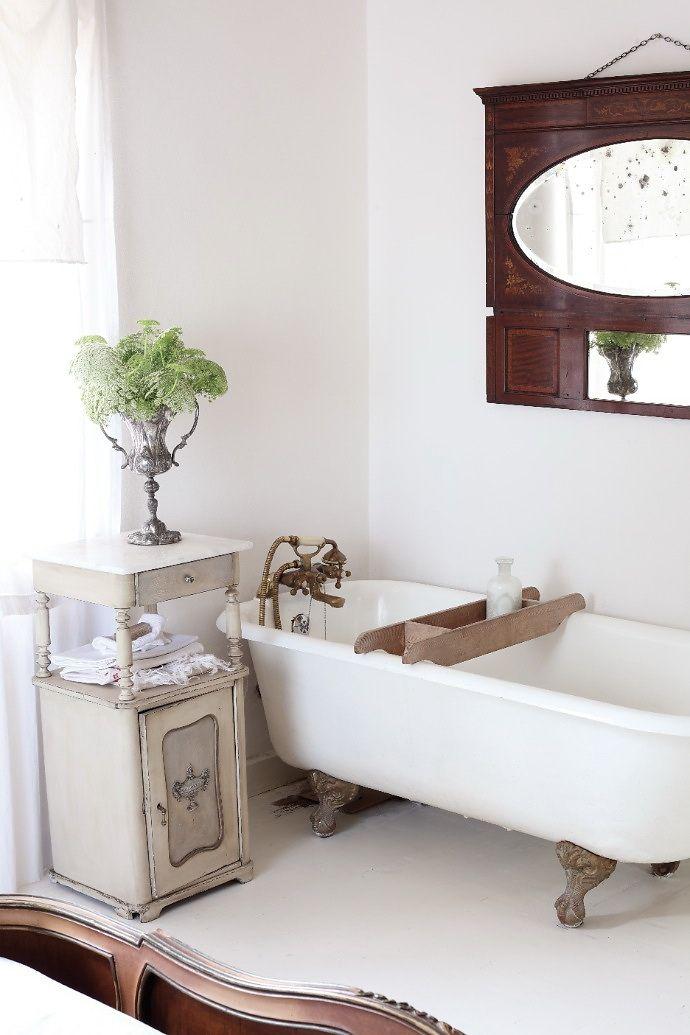 шебби шик ванная фото 3