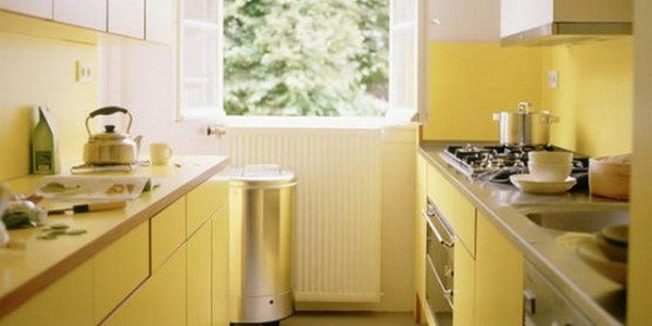 Светло желтые кухни (4)