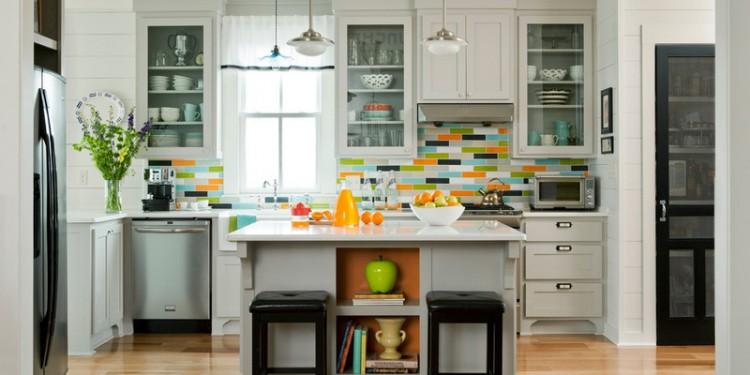 Яркая кухня - все цвета радуги (4)