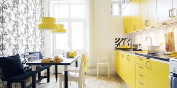 Желтые кухни-3