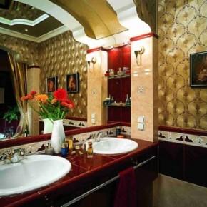 Дизайн ванной – фото 712