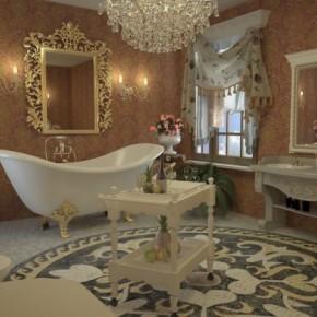Дизайн ванной – фото 711