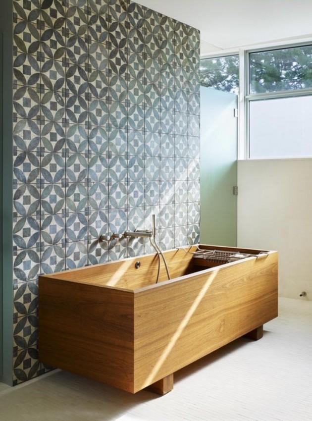 Деревянные ванны Benedini Associati