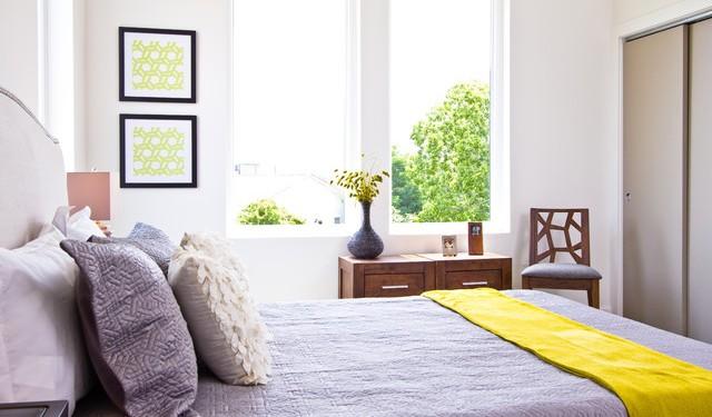 Дизайн маленькой спальни (19)