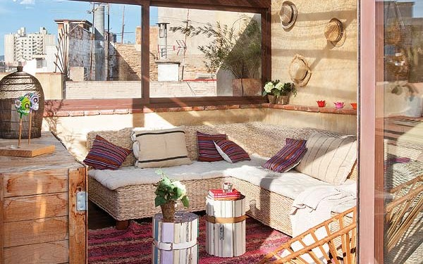 двухэтажная квартира в Барселон (17)