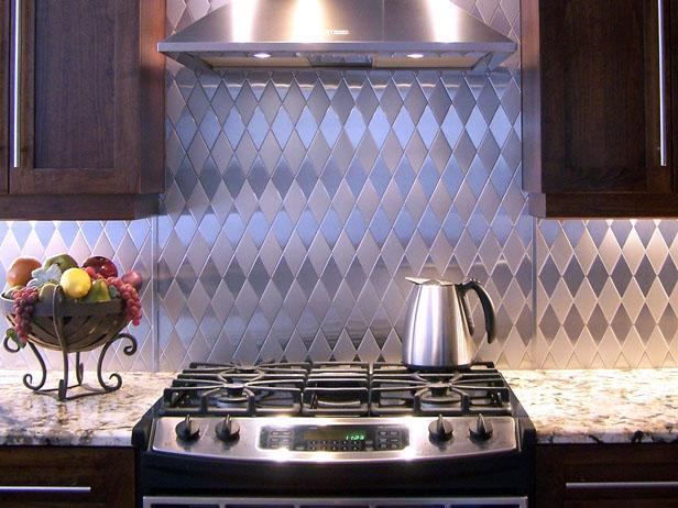 Стальной кухонный фартук