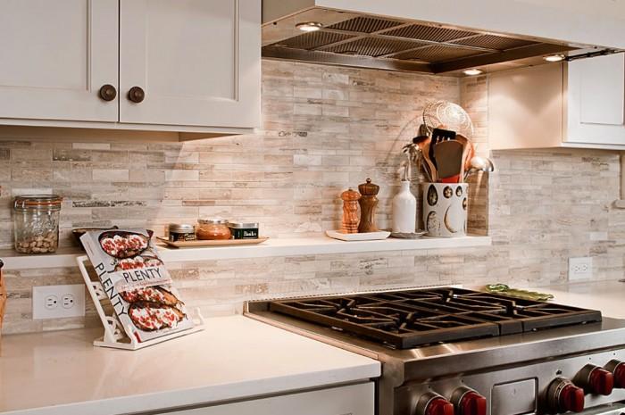 Кухонные фартуки из искусственного камня