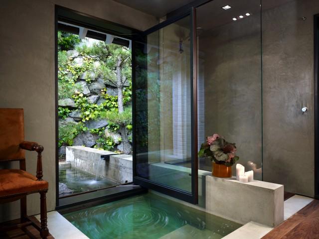 ванна встроенная в пол
