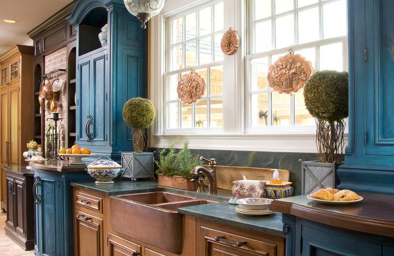 farmhouse kitchen by Shannon Poe