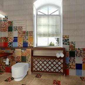 Дизайн проект ванной – фото 651