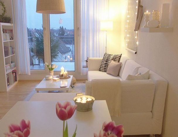 Романтично украшеная комната
