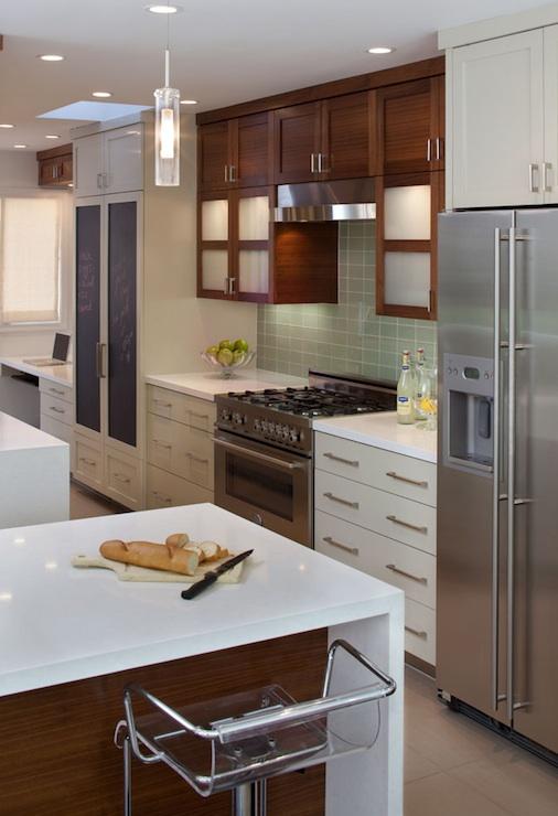 Сочетание цветов в интерьере кухни - использование контрастов