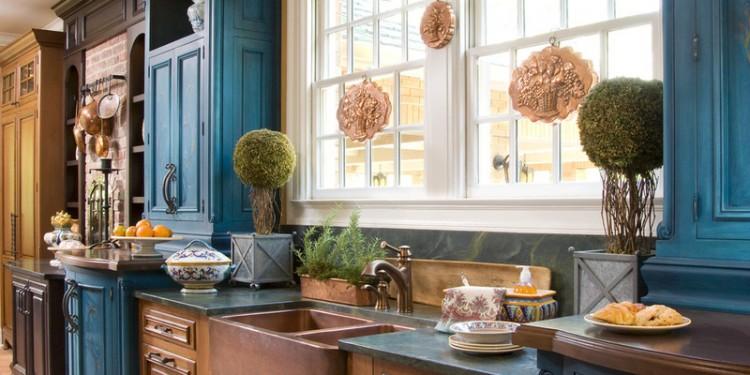 Сочетание цветов в интерьере кухни (5)