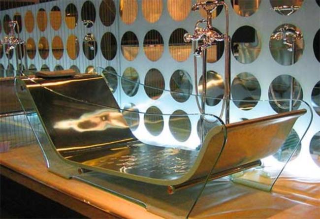 Прозрачная ванна Wasauna