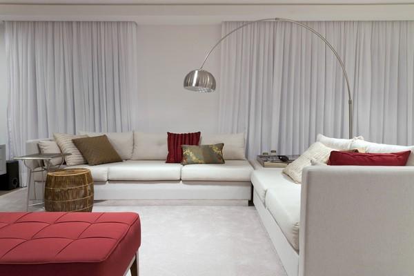 Современный интерьер - доминирующий цвет гостиной