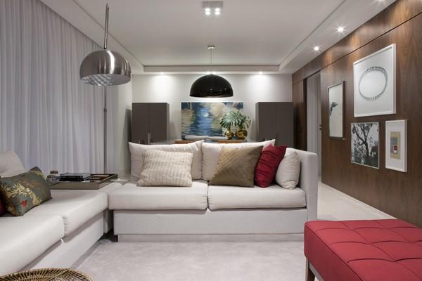 Современный интерьер - квартира в теплых тонах