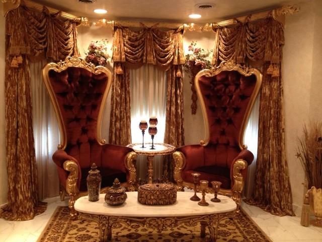 стиль барокко в интерьере квартиры