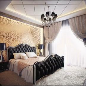 Оформление спальни – фото 674
