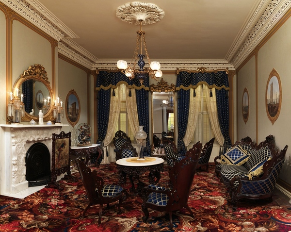 Элементы интерьера в стиле барокко - отделка