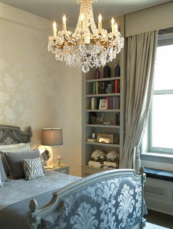 стиль барокко - фото спальни