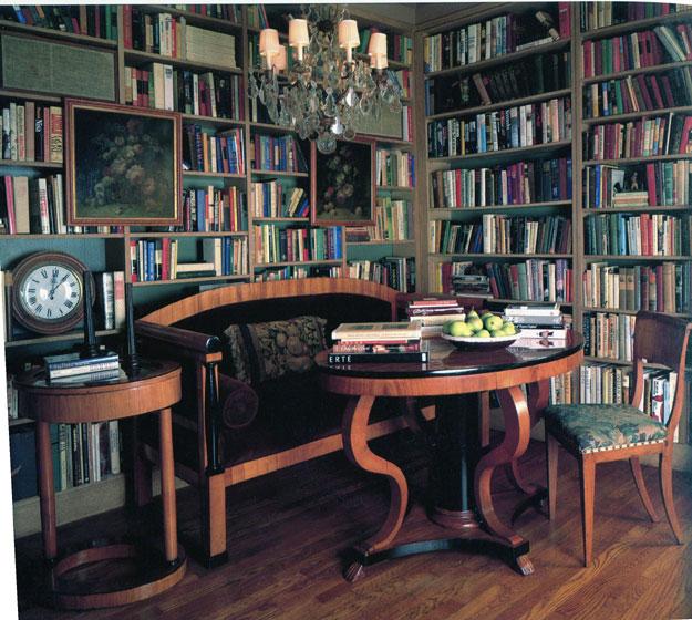 кабинет в стиле бидермейер