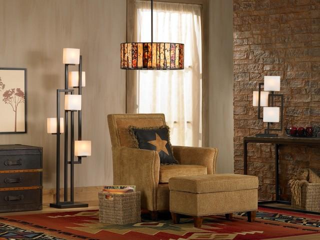 Витражные светильники и лампы