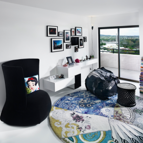 Дизайн гостиной – фото 484