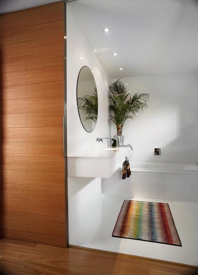 ванная комната белого цвета