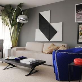 Отделка гостиной комнаты – фото 450