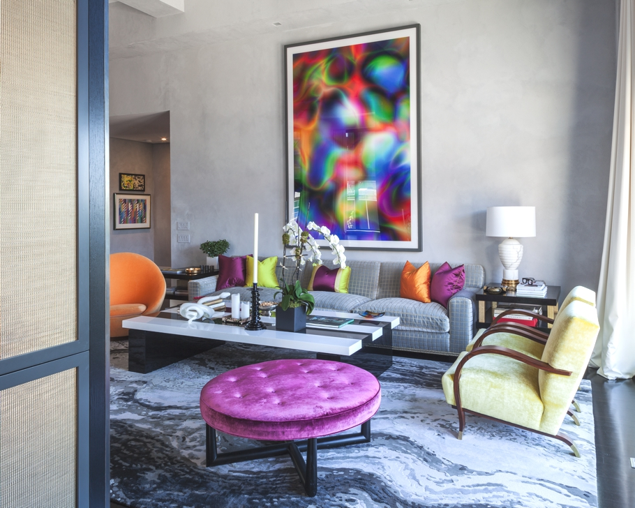 Дизайнерская квартира от Джеми Дрейка фото 4