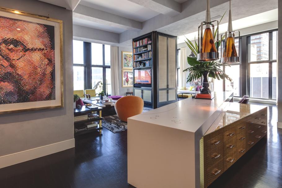 Дизайнерская квартира от Джеми Дрейка фото 3